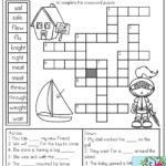 Crossword Puzzle 1St Grade Printable Printable Crossword