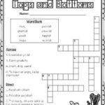 Journeys 3rd Grade Unit 3 Vocabulary Crossword Puzzles