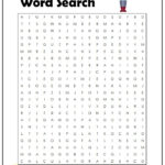 Math Word Search Monster Word Search