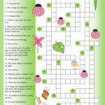 Printable Crossword Spring Printable Crossword Puzzles