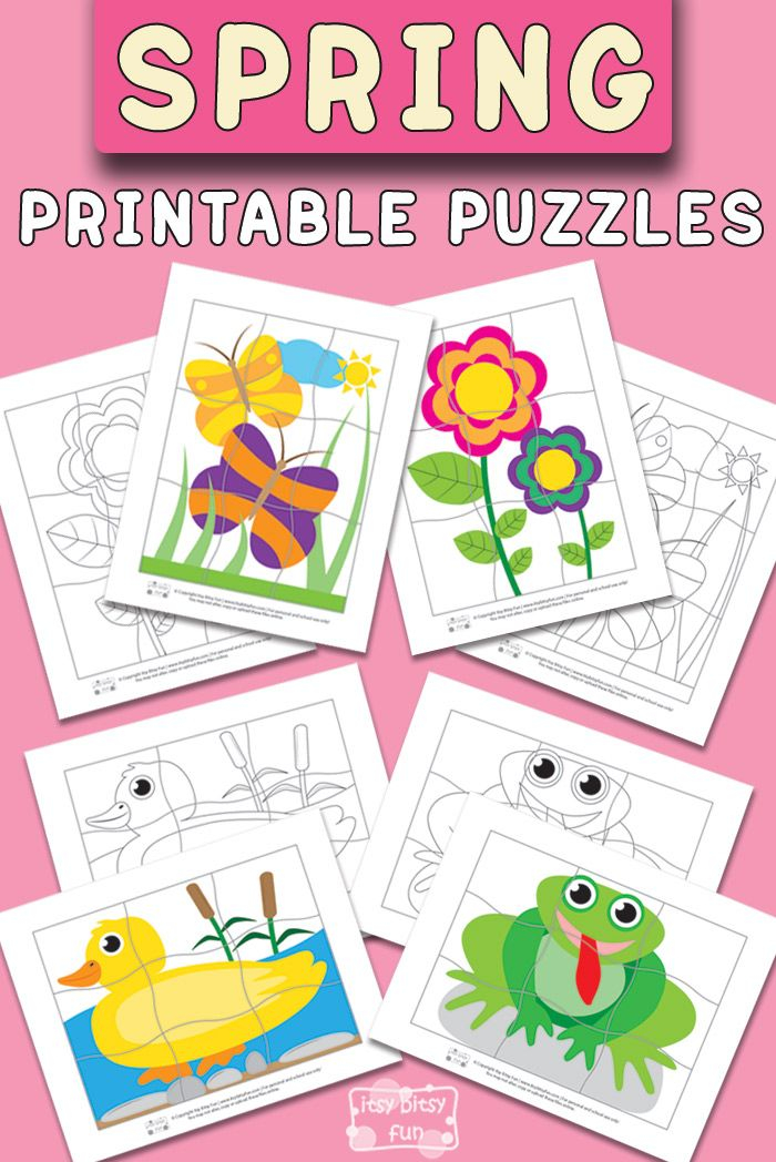 Free Picture Puzzles Printable