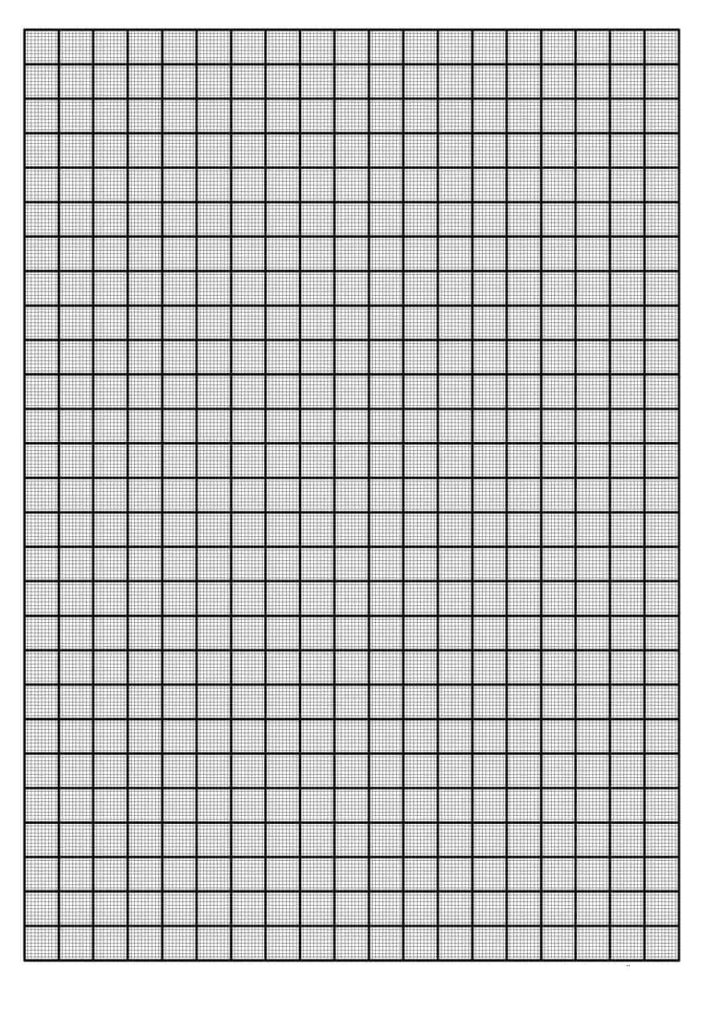 11 Free Graph Paper Templates Word PDFs Word Excel Templates