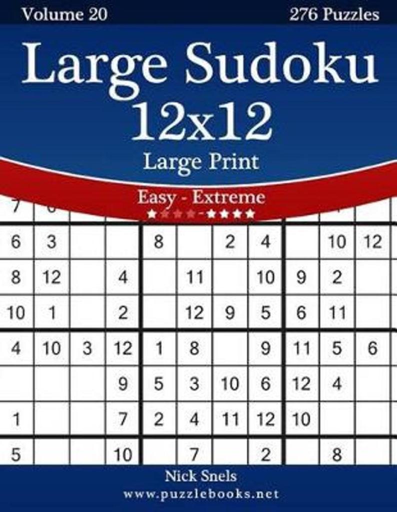 12 Number Sudoku Printable Sudoku Printable