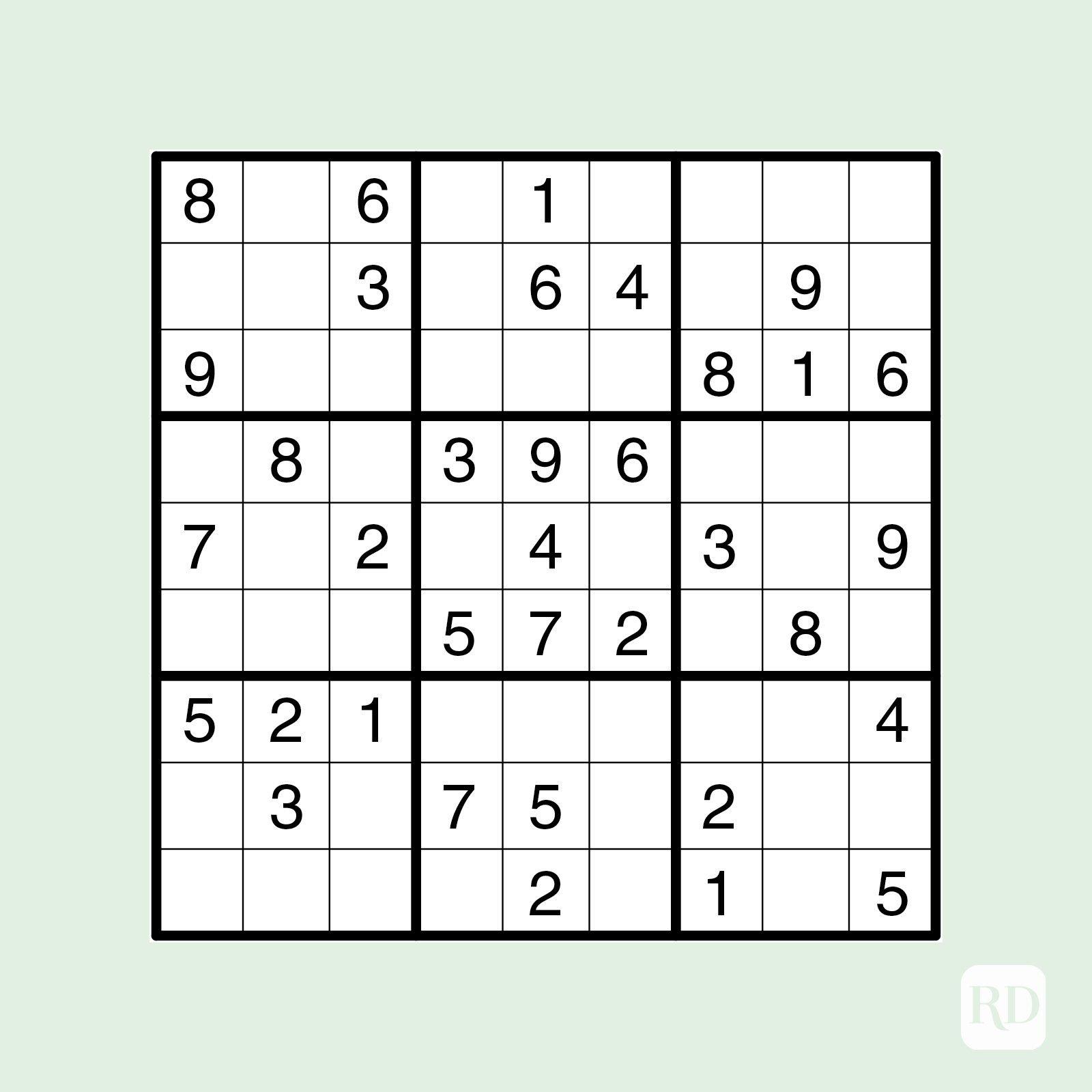 Sudoku Games Printable