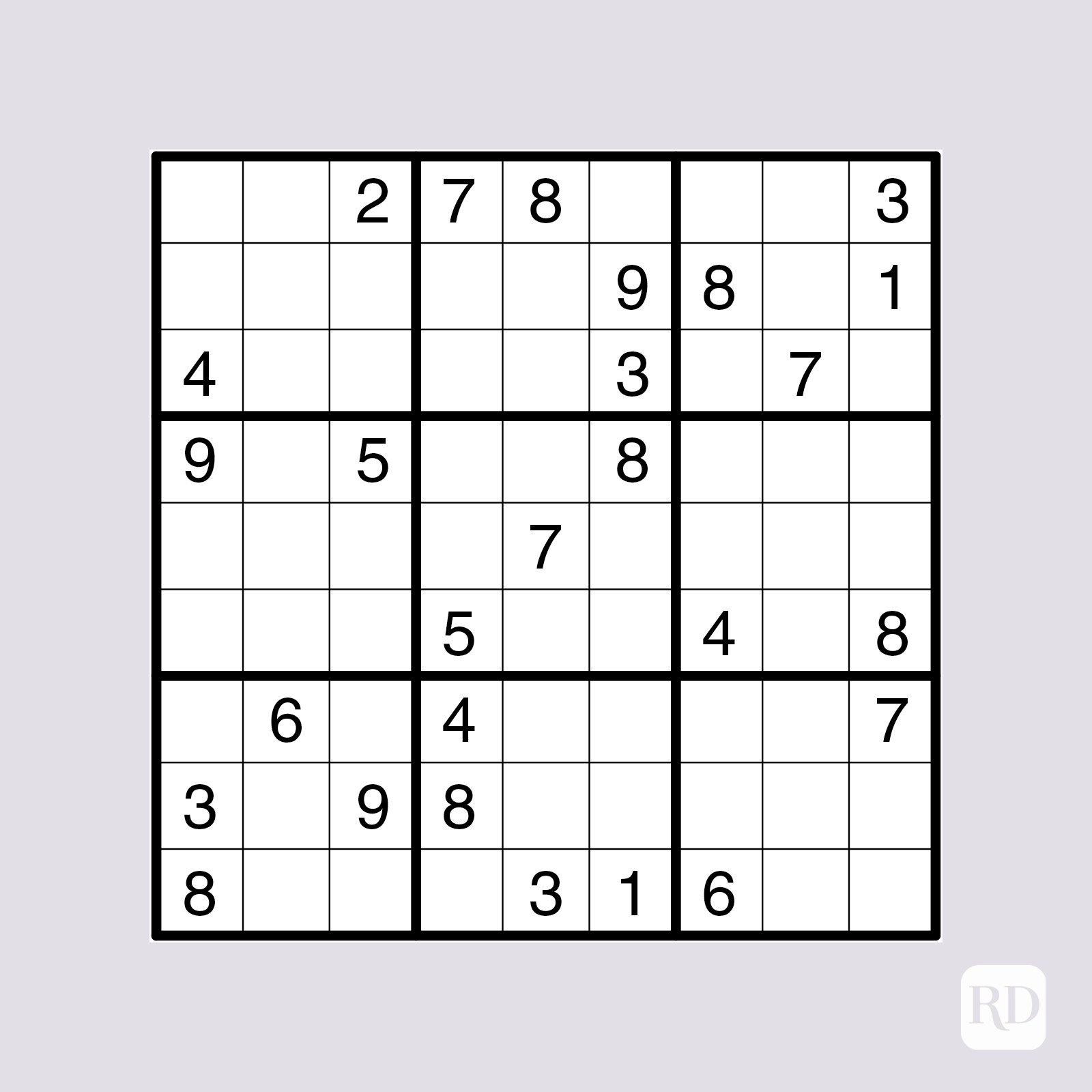 Big Printable Sudoku Puzzles
