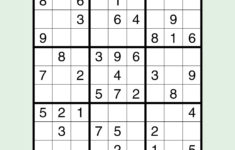 15 Free Printable Sudoku Puzzles For All Levels Reader S