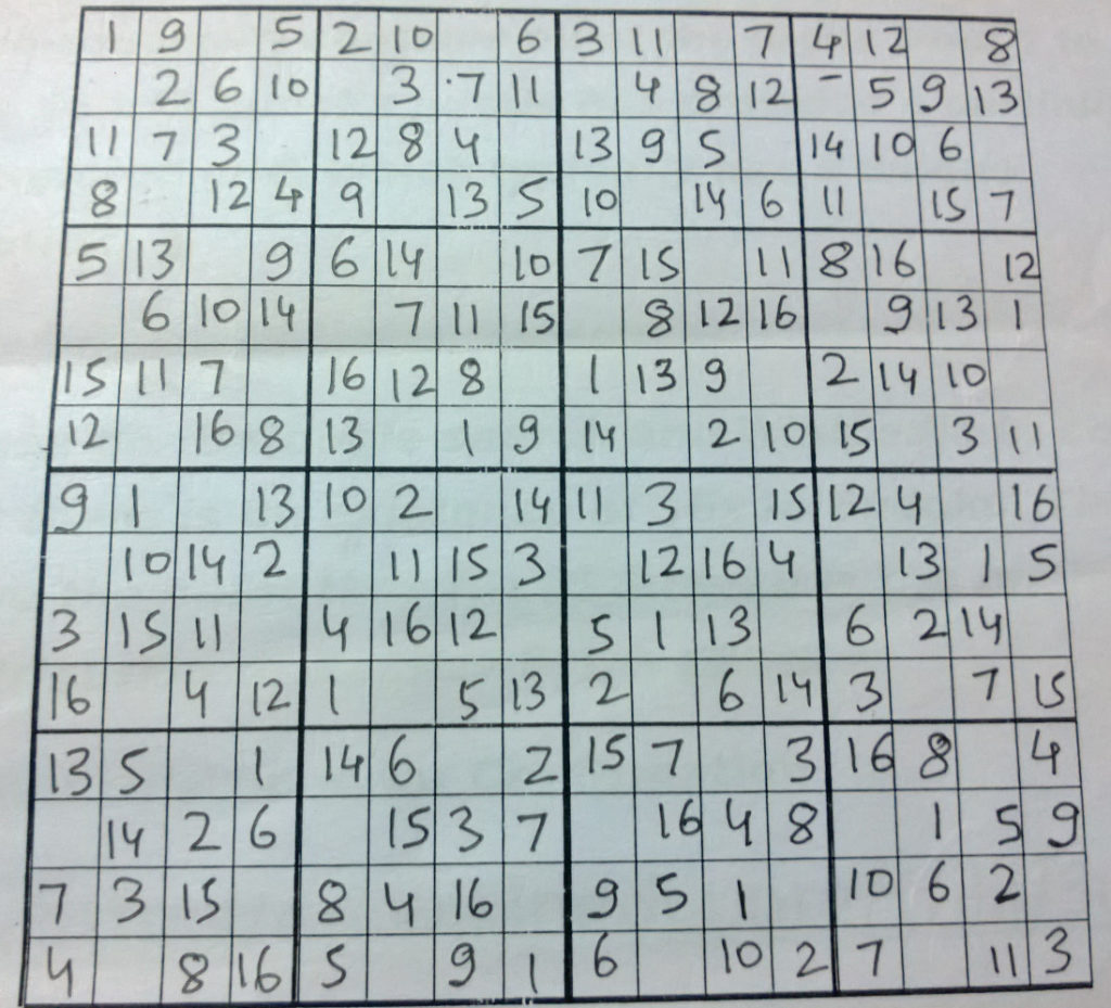 36X36 Sudoku Printable Printable Template Free