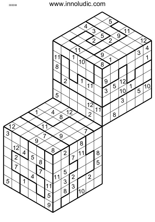 3d Sudoku Printable