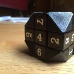 3D Printed Truncated Rubik S Cube Corner By RyanPuzzle