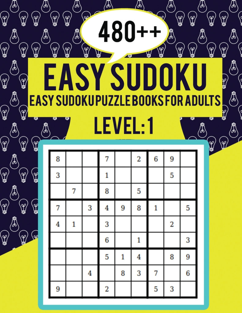 480 Easy Sudoku Easy Sudoku Puzzle Books For Adults