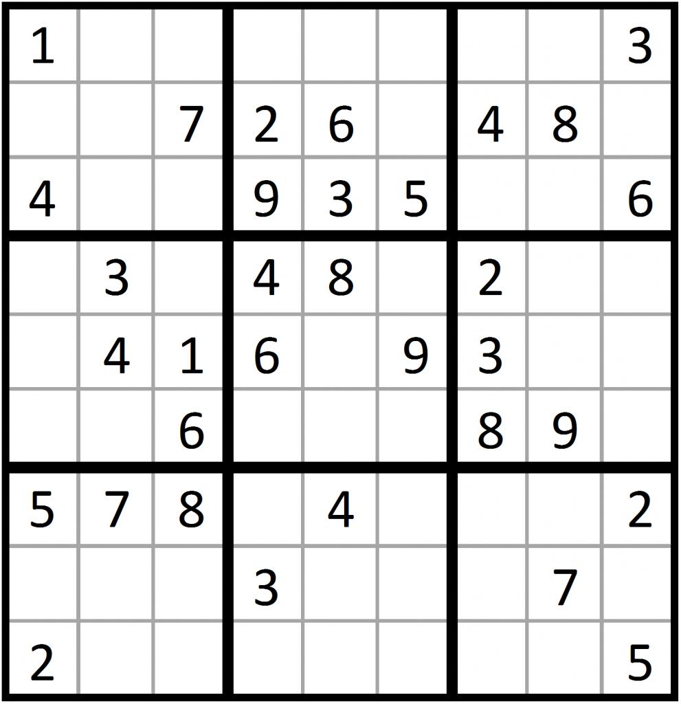 5 Star Sudoku Printable