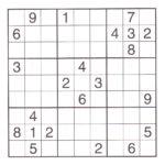 Advanced Sudoku Puzzles Printable Printable Template Free