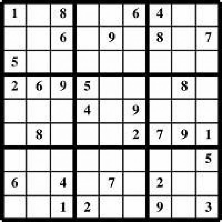 Sudoku Printable Livewire