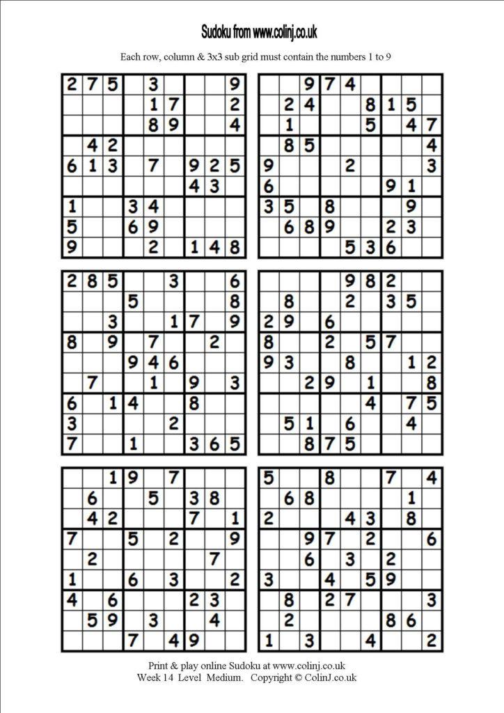 Blank Sudoku Worksheet Printable Worksheets And