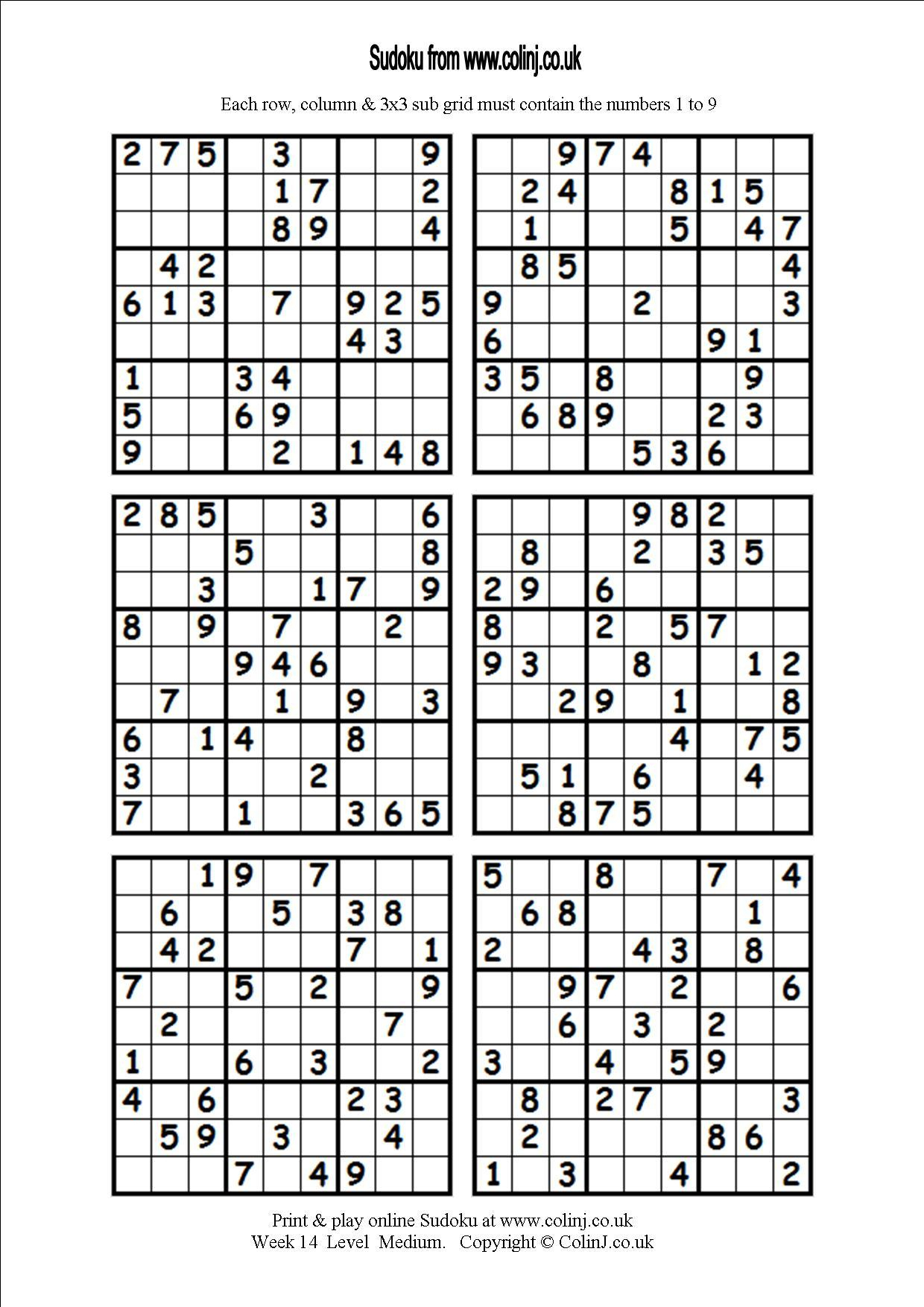 Monster Sudoku Printable