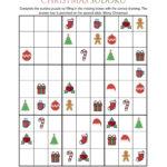 Christmas Sudoku Printable That Are Impeccable Barrett