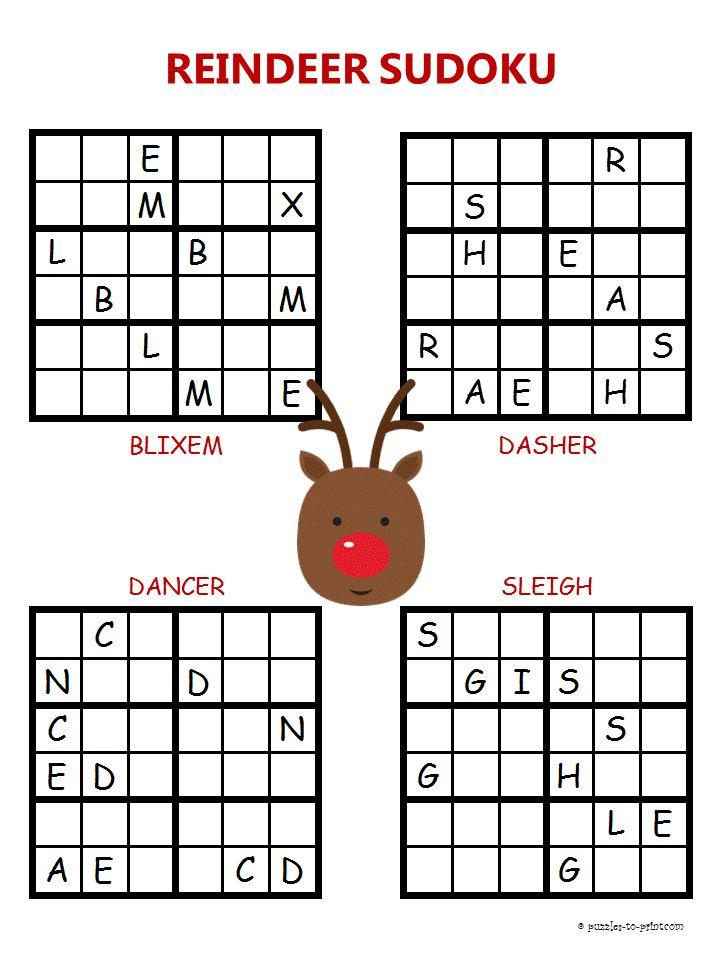 Word Sudoku Printable