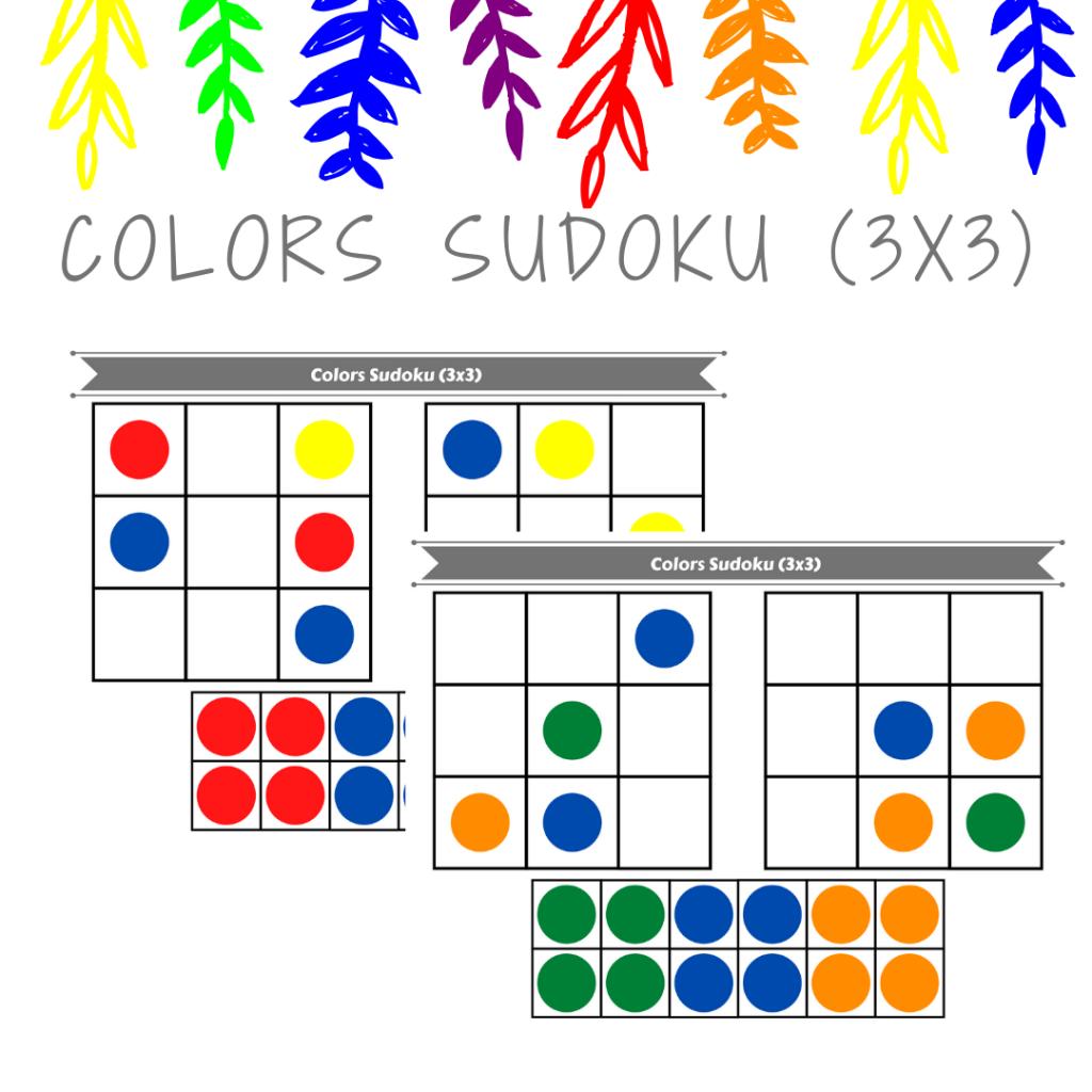 Colour Sudoku Printable