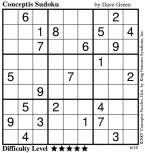 Conceptis Sudoku Printable