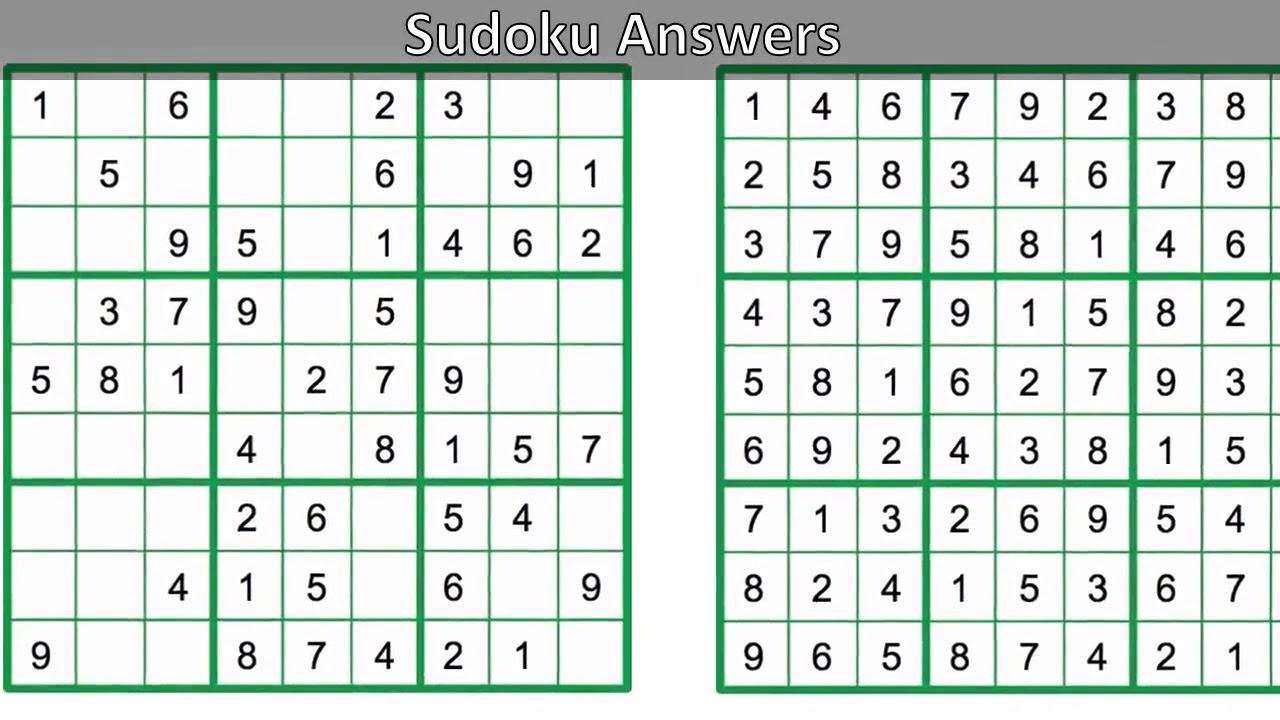 Sudoku Chicago Tribune Daily Printable Version