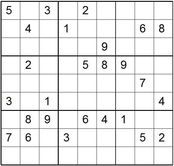 Very Difficult Sudoku Printable