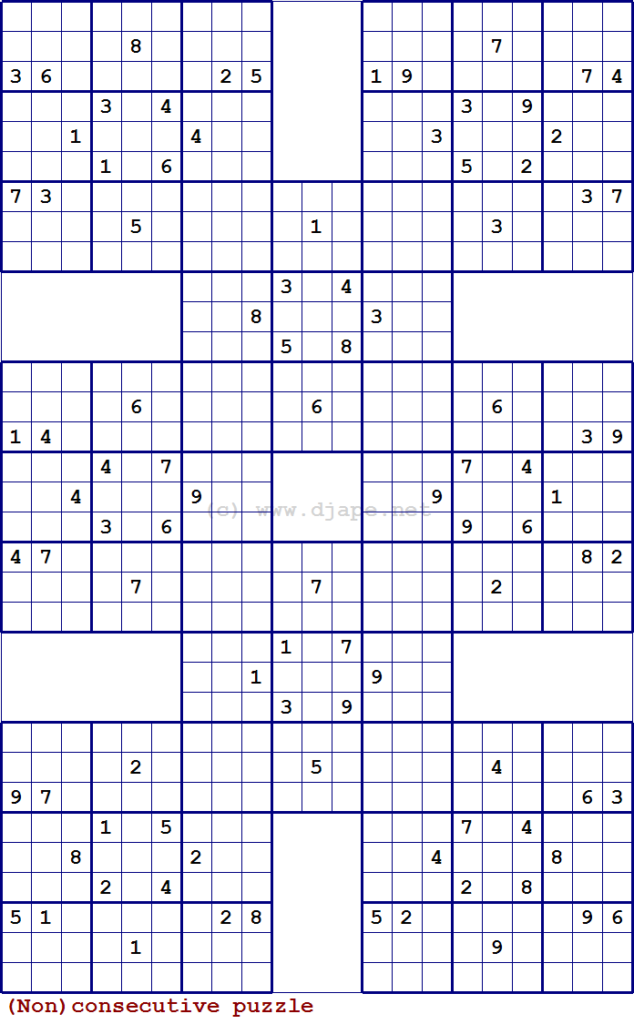 Double Sudoku Samurai Harakiri Variants Book And A FREE PUZZLE