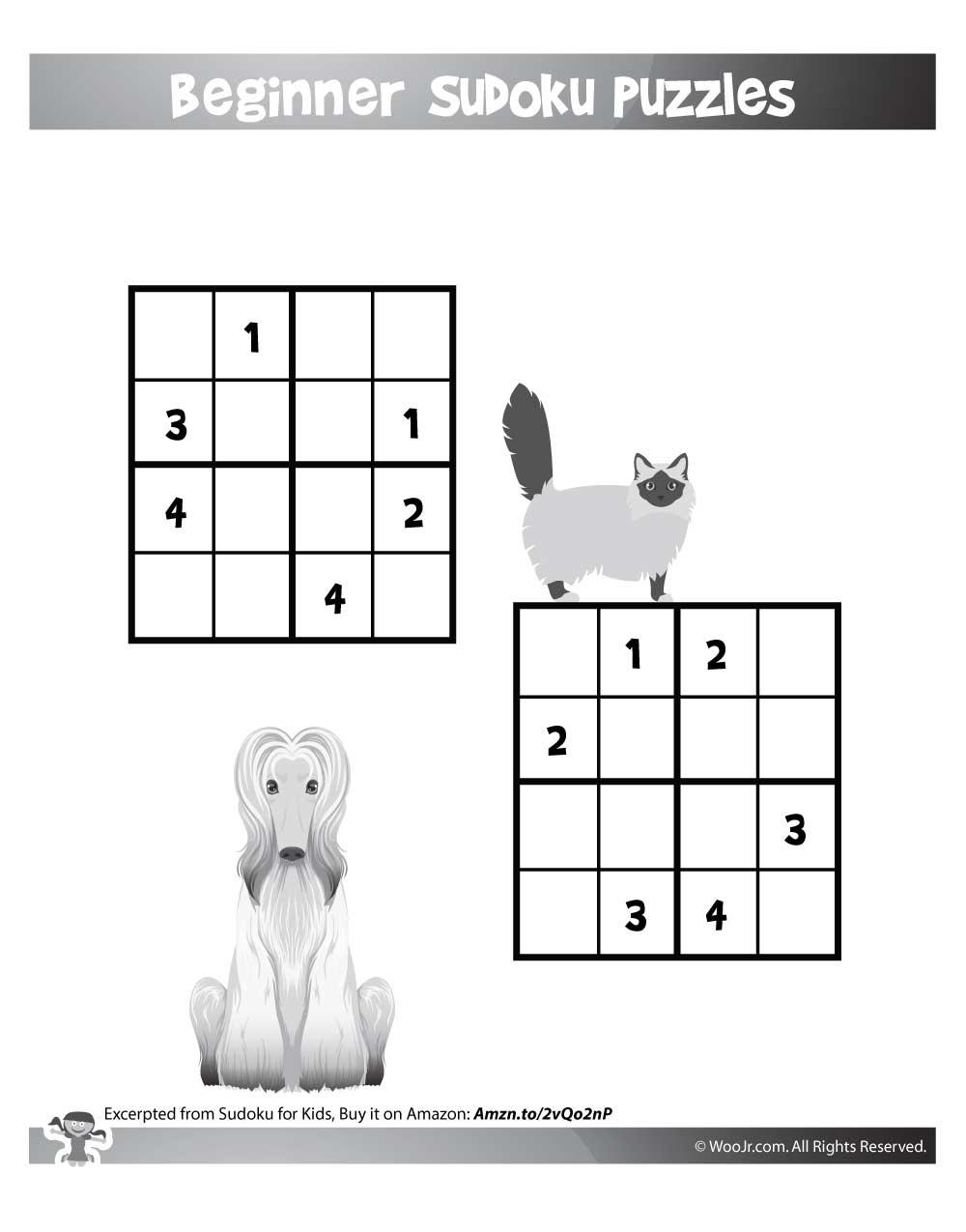 Easy Beginner Sudoku Printable