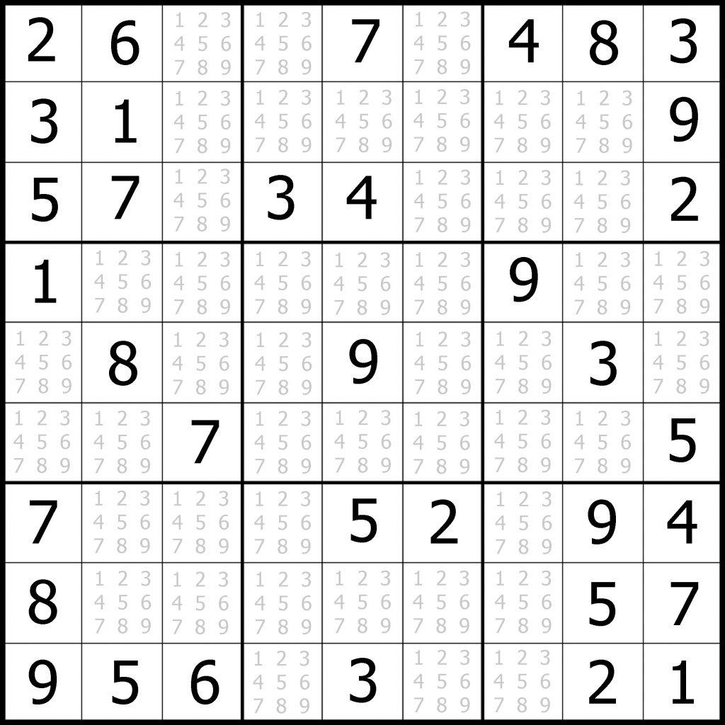 Easy Sudoku Printable Kids Activities Printable Sudoku