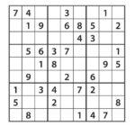 Easy Sudoku Puzzles Free Printable AllFreePrintable