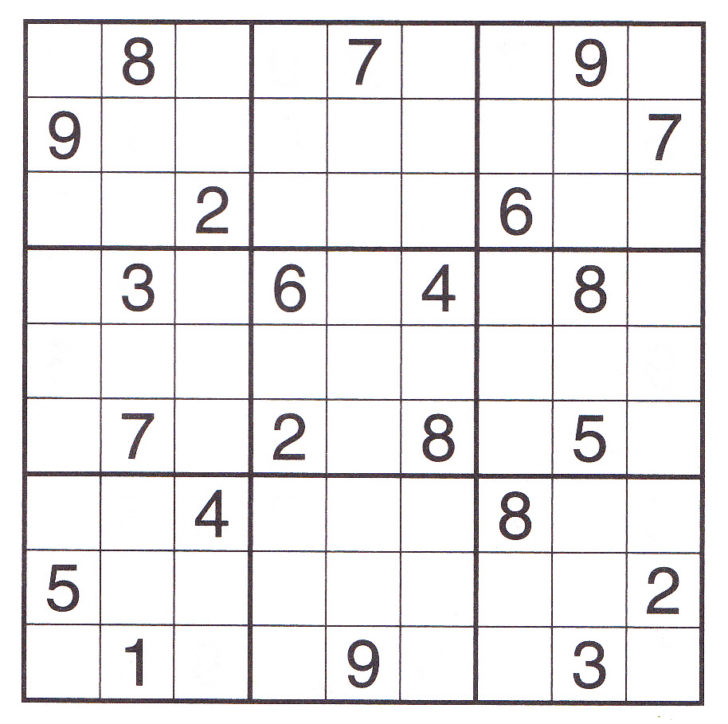 Expert Sudoku Printable