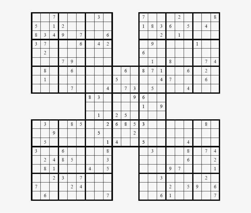 Big Sudoku Printable