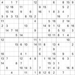 Free 16 X 16 Grid Sudoku EBook Make Breaks