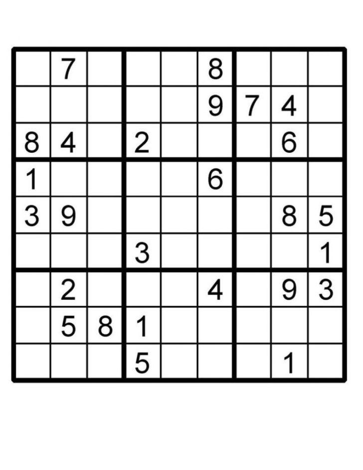 Fiendish Sudoku Puzzles Printable