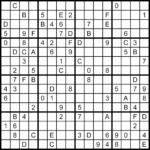 Free Printable Sudoku 16 16 Grid Sudoku Printable