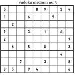 Free Printable Sudoku Medium Level AnimationsA2Z