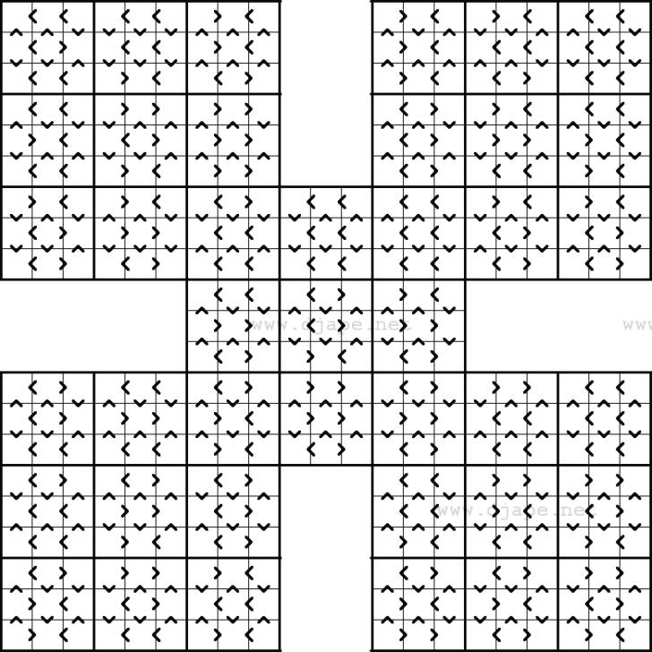 Greater Than Sudoku Printable