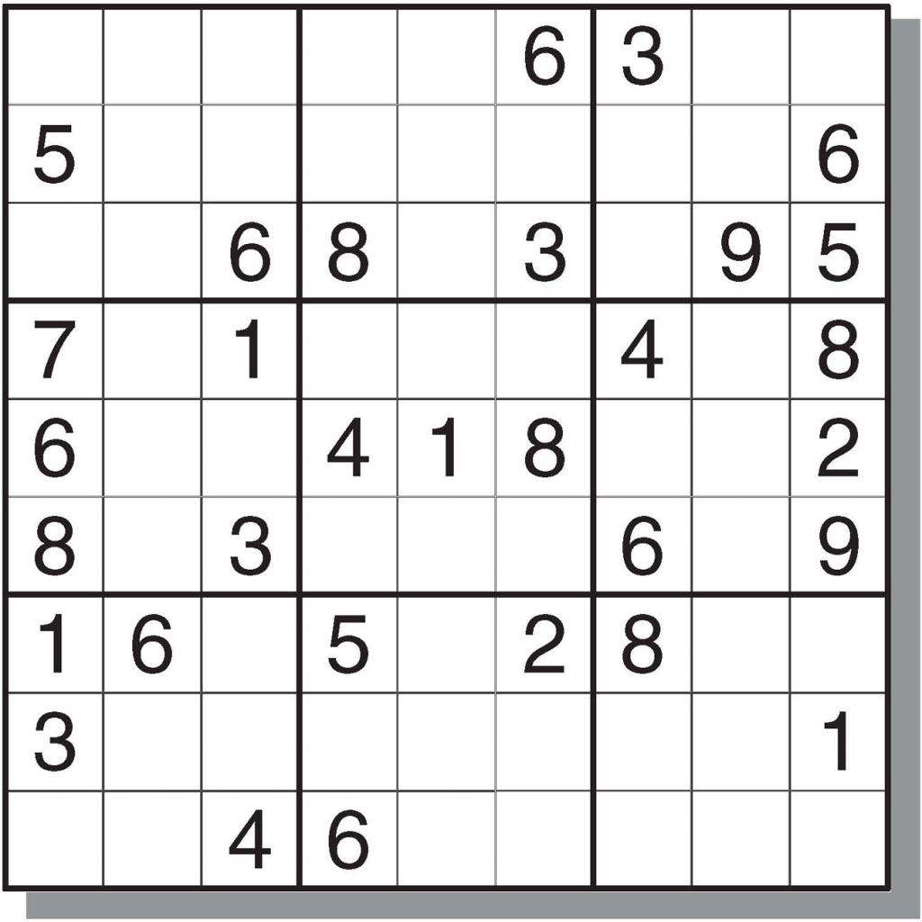 Sudoku 16x16 Hard Printable