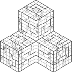 Hyper Sudoku 3D E 4