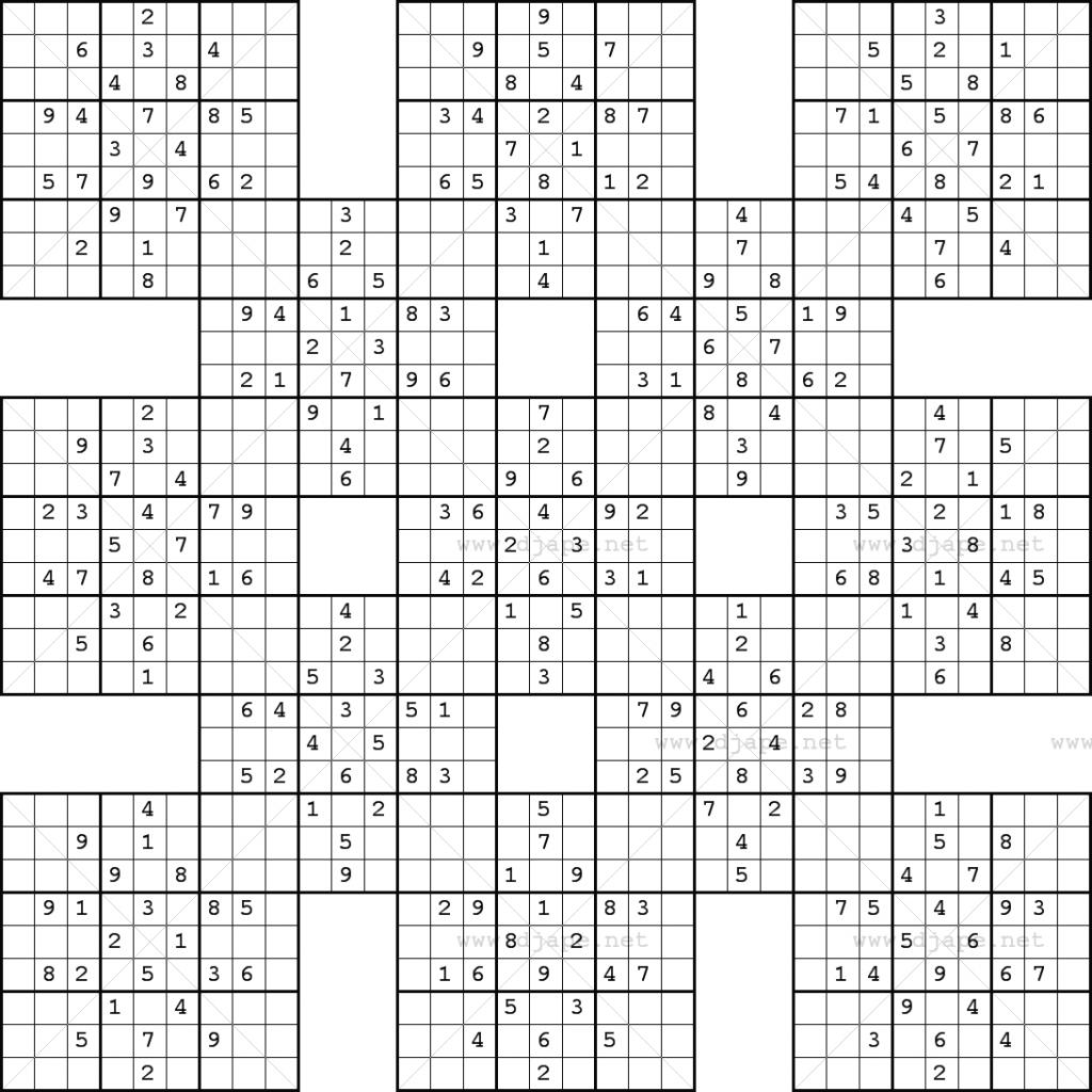 Super Sudoku Printable Download
