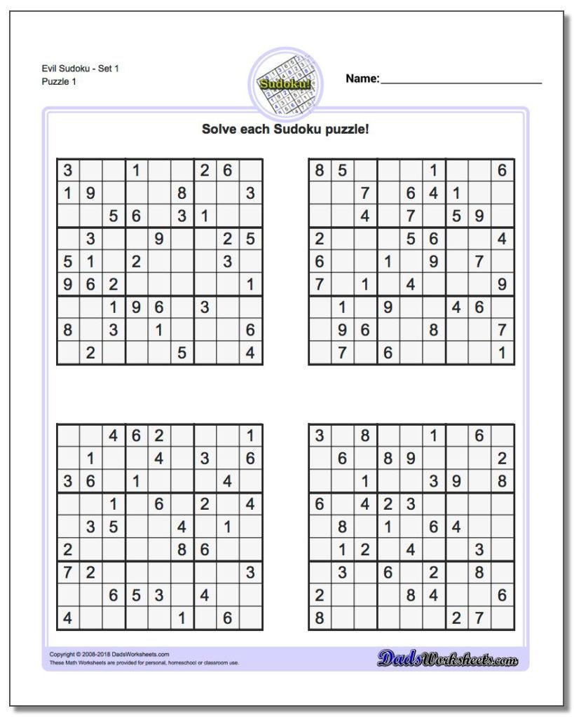 La Times Sudoku Printable Sudoku Printable