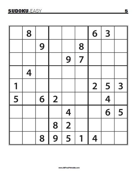 Large Sudoku Printable