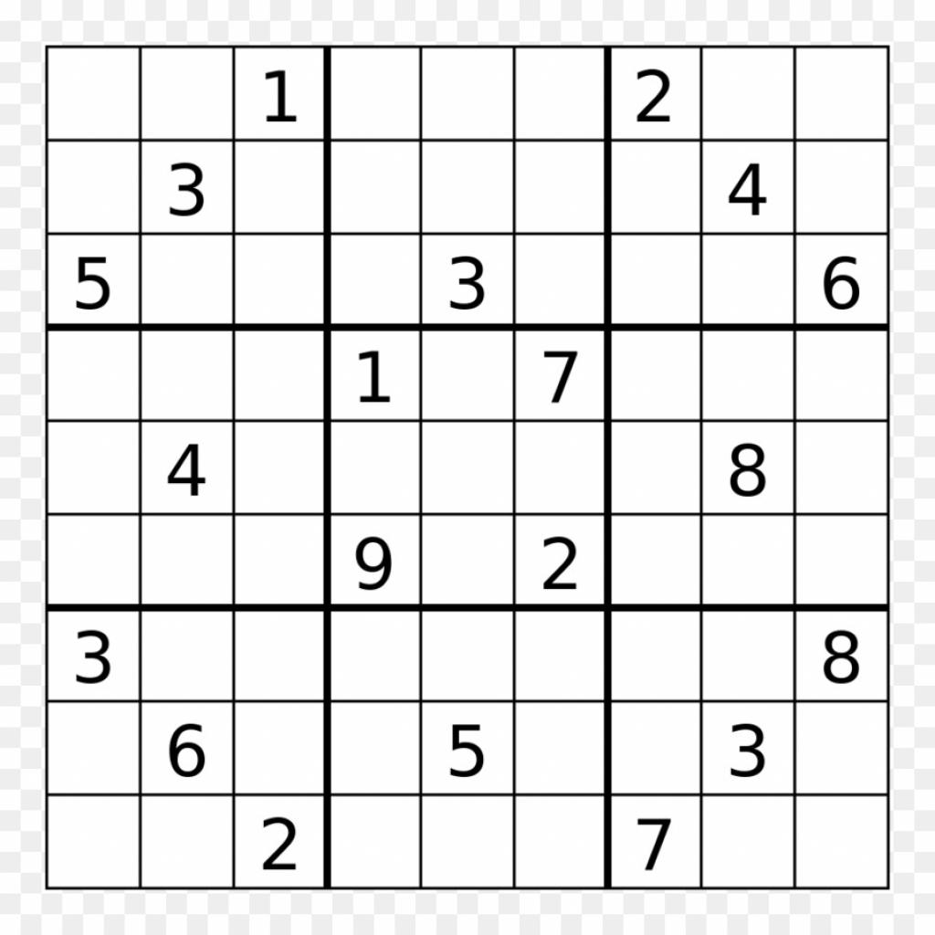 Web Sudoku Printable