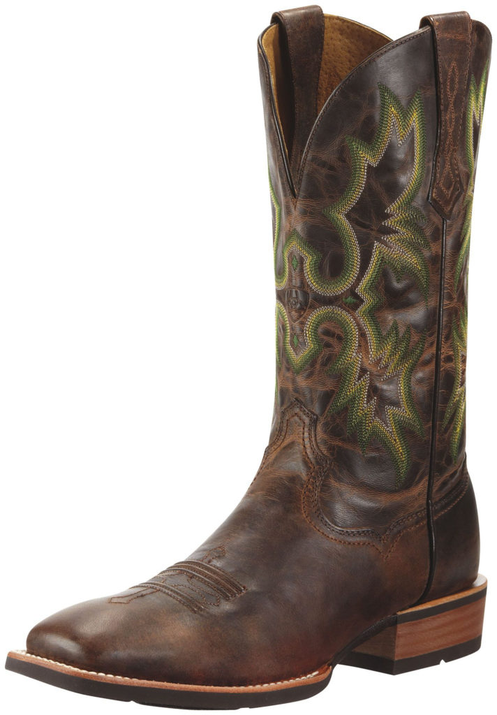 Men S Tombstone Weathered Chestnut Boot By Ariat