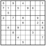 Monday Intermediate Sudoku 15 7 2013 Print Or Play