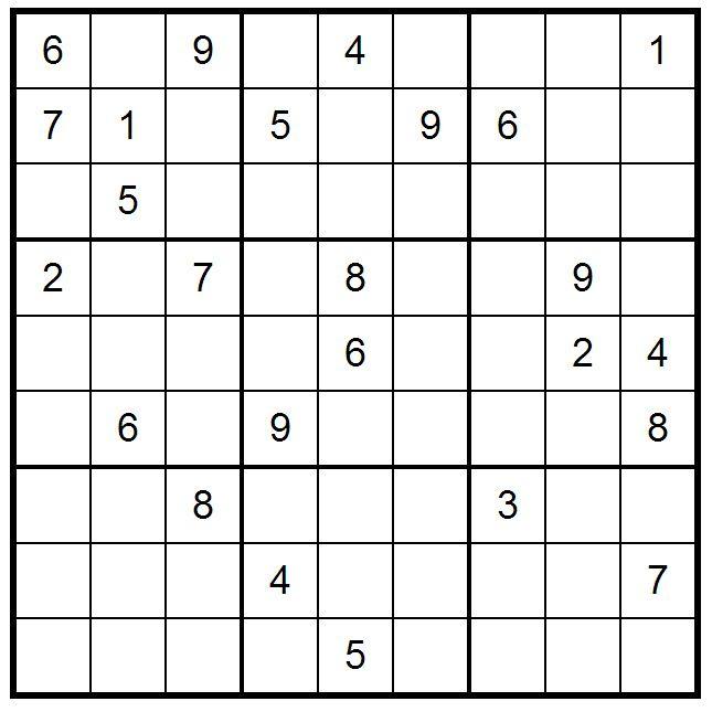 Sudoku Intermediate Printable