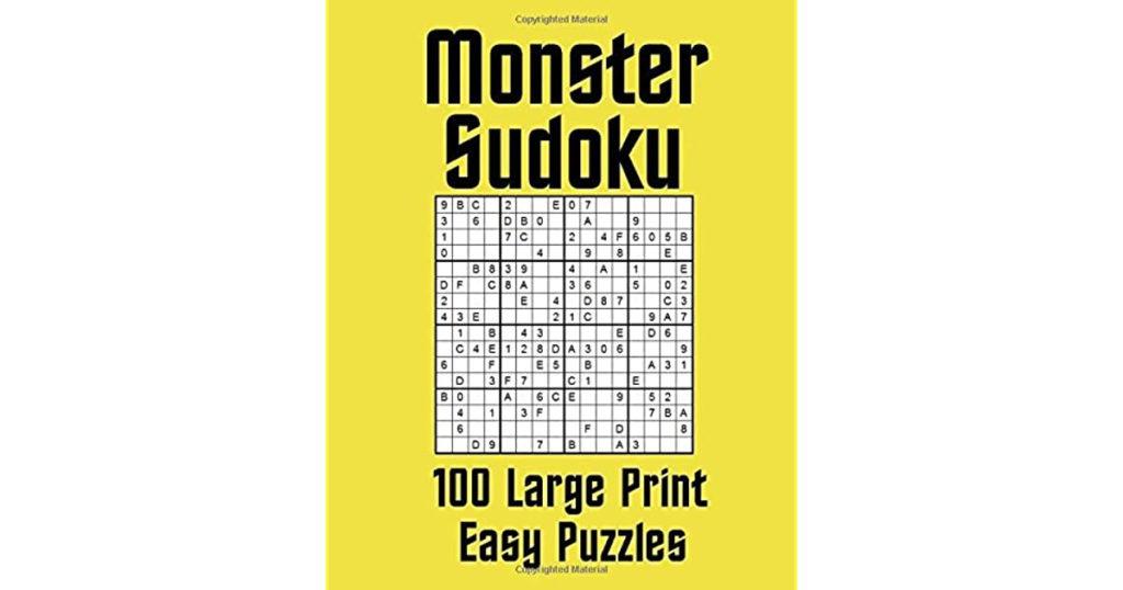 Monster Sudoku Printable That Are Fan Hoffman Blog