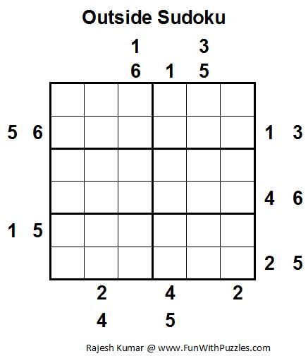 Outside Sudoku Printable