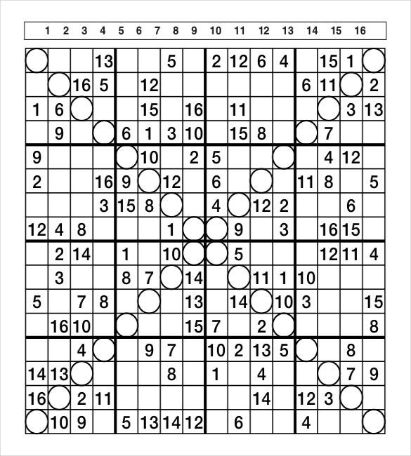Sudoku Challenge Printable