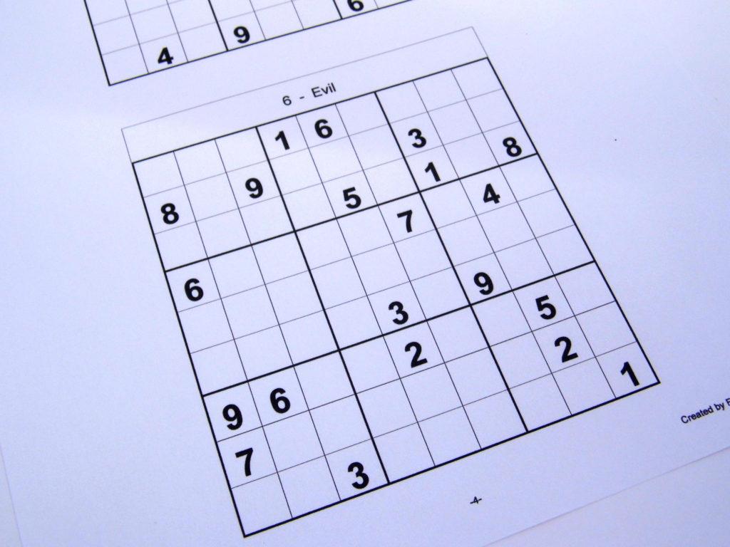 Printable Sudoku 2 Per Page PrintableTemplates