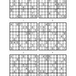 Printable Sudoku 6 To A Page Printable Sudoku Free